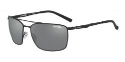 Arnette AN 3080 MABONENG 696/6G  RUBBER BLACK  grey mirror silver