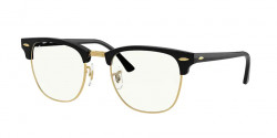 Ray-Ban RB 3016 CLUBMASTER  901/BF  BLACK clear / blue light filter