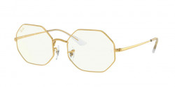 Ray-Ban RB 1972 OCTAGON 9196BF  LEGEND GOLD clear/blue light filter