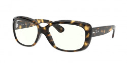 Ray-Ban RB 4101 JACKIE OHH 710/BF  HAVANA clear/blue light filter