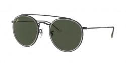 Ray-Ban RB 3647 N 921231  BLACK g-15 green
