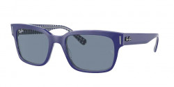 Ray-Ban RB 2190 JEFFREY 131962  BLUE ON VICHY BLUE/WHITE blue