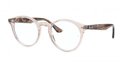 Ray-Ban RB 2180 V 8080  TRANSPARENT LIGHT BROWN