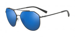 Armani Exchange AX 2023 S  606355  MATTE BLACK mirror blue