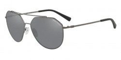 Armani Exchange AX 2023 S  60886G  MATTE GUNMETAL mirror black