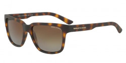 Armani Exchange AX 4026 S  8029T5  MATTE HAVANA gradient brown polar