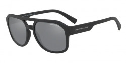 Armani Exchange AX 4074 S  80786G  MATTE BLACK mirror black