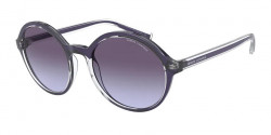 Armani Exchange AX 4101 S  83234Q  SHINY BLUE gradient violet