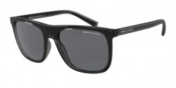 Armani Exchange AX 4102 S  831887  SHINY BLACK grey