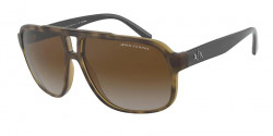 Armani Exchange AX 4104 S  8029T5  MATTE HAVANA gradient brown polar