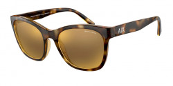 Armani Exchange AX 4105 S  82135A  SHINY HAVANA mirror gold