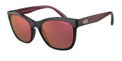 Armani Exchange AX 4105 S  8255D0  SHINY BLACK mirror violet