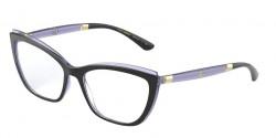 Dolce&Gabbana DG 5054  3274  BLACK/TRANSPARENT DARK VIOLET