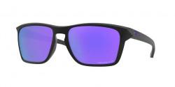 Oakley OO 9448 SYLAS 944813  MATTE BLACK prizm violet polarized