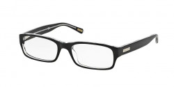 Ralph RA 6045  7018  541  SHINY BLACK ON CRYSTAL