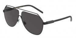 Dolce&Gabbana DG 2266  110687  MATTE BLACK dark grey