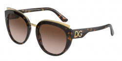 Dolce&Gabbana DG 4383  502/13  HAVANA brown gradient dark brown