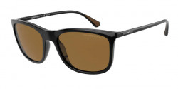 Emporio Armani EA 4155  501783  SHINY BLACK brown polar