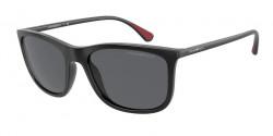 Emporio Armani EA 4155  504287  MATTE BLACK grey