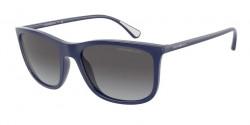 Emporio Armani EA 4155  50888G  MATTE BLUE gradient grey