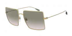 Emporio Armani EA 2101  30022C  MATTE PALE GOLD gradient light green