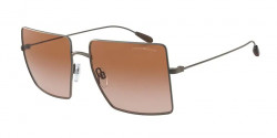 Emporio Armani EA 2101  300313  MATTE GUNMETAL gradient brown