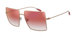 Emporio Armani EA 2101  3004V0  MATTE ROSE GOLD mirror gradient red