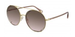 Chloe CH 0041 S  003 GOLD/BROWN brown gradient