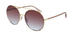 Chloe CH 0041 S  004 GOLD/PINK red gradient