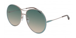Chloe CH 0016 S  002 BLUE green gradient
