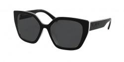 Prada PR 24 XS  YC45S0  BLACK/IVORY dark grey