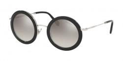 Miu Miu MU 59 US  1AB5O0  BLACK gradient grey mirror silver