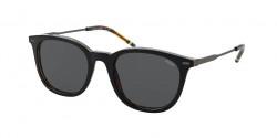 Polo Ralph Lauren PH 4164  526087  SHINY BLACK ON JERRY HAVANA grey