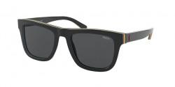 Polo Ralph Lauren PH 4161  582887  BLACK/BLUE/RED/YELLOW/BLACK grey