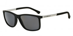 Emporio Armani EA 4058 506381 BLACK RUBBER polar grey