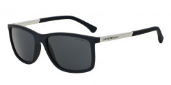 Emporio Armani EA 4058 547487 BLUE RUBBER grey
