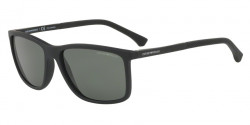 Emporio Armani EA 4058 56539A  BLACK RUBBER polar green