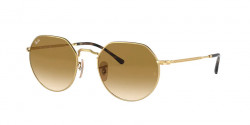 Ray-Ban RB 3565 JACK  001/51  ARISTA clear gradient brown