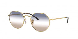 Ray-Ban RB 3565 JACK  001/GD  ARISTA  clear gradient blue