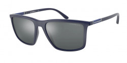 Emporio Armani EA 4161  50886G  MATTE BLUE  light grey mirror black