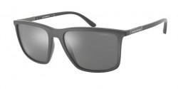 Emporio Armani EA 4161  54376G  MATTE GREY grey mirror silver