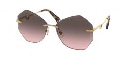Miu Miu MU 55 XS  7OE146  BRASS pink gradient grey