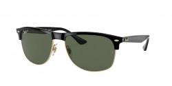 Ray-Ban RB 4342  601/9A  BLACK dark green polar