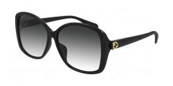 Gucci GG 0950 SA - 001 BLACK grey gradient