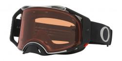 Gogle Oakley OO 7046 AIRBRAKE MX 7046B1  TUFF BLOCKS BLACK GUNMETAL prizm bronze