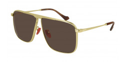 Gucci GG 0840 S - 004 GOLD brown
