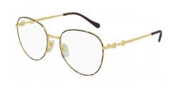 Gucci GG 0880 O - 002 GOLD/HAVANA