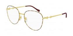 Gucci GG 0880 O - 005 GOLD/HAVANA