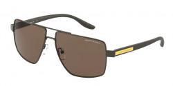 Armani Exchange AX 2037 S  600173  MATTE BROWN dark brown