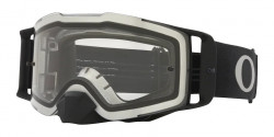 Gogle Oakley OO 7087 FRONT LINE MX 708760  TUFF BLOCKS BLACK GUNMETAL clear